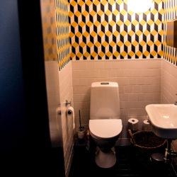 WC hos arkitektfirman Krook & Tjäder