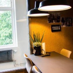 Arkitektfirman Krook & Tjäders kontor