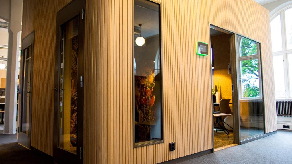 Konferensrum hos arkitektfirman Krook & Tjäder